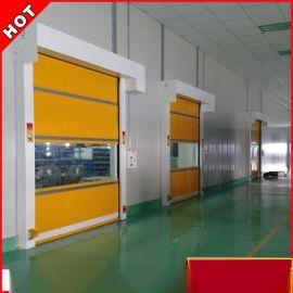 深圳快速卷帘门工业PVC卷帘门红外光电感应门