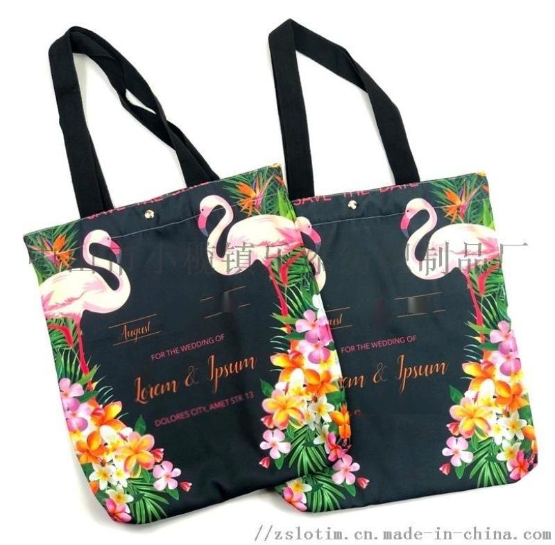 厂家定制数码印涤纶购物袋