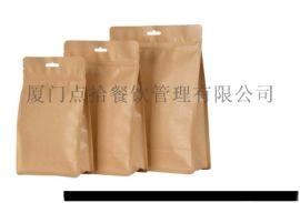 厦门厂家直销镀铝牛皮纸茶叶包装袋、手提袋,可定制