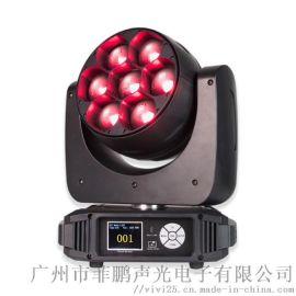 菲鹏声光 LED 7颗40W RGBW 调焦染色灯