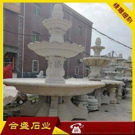 别墅庭院流水喷泉 流水钵石材广场喷泉 来图加工