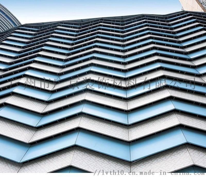 外墙造型铝单板 碳喷涂雕花铝单板