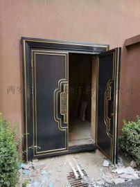 铜门定做尺寸,鲁班尺铜门,黄金比例分割法设计铜门