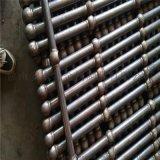 深圳球形立柱厂家 带角度球接立柱 热浸锌栏杆报价