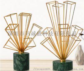 深圳直销商场家用金属桌面装饰工艺品