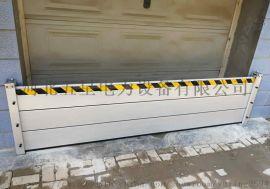 WX型防汛挡水板(防洪挡水板)没有缝隙,配置的橡胶密封条起到第二次防水作用