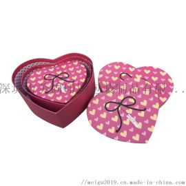 生日礼物盒 心形礼盒 圆形礼盒方形礼盒 手工盒定制