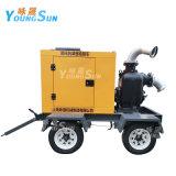 防讯排涝6寸300立方移动泵车柴油机自吸水泵