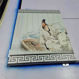 3d打印艺术铝单板造型 3d彩绘铝单板特点