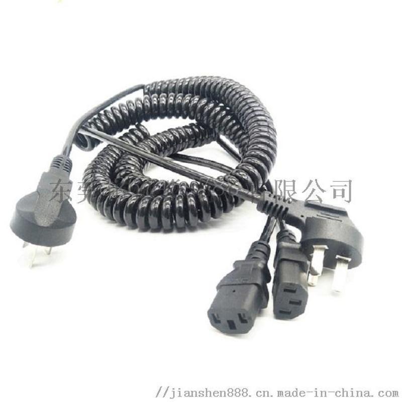 国标插头弹簧线