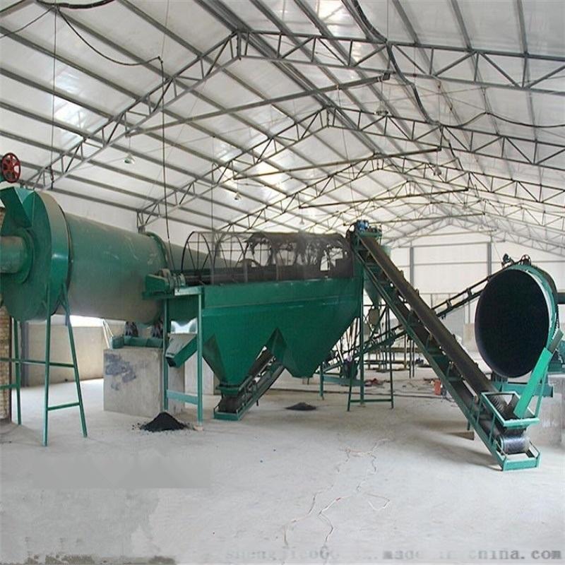 宁夏一套小型牛粪有机肥生产线配置都有哪些设备组成