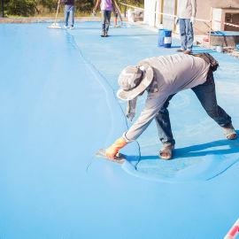 环氧地坪-环氧树脂地坪施工厂家-砂浆型-彩砂自流平