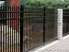 广东东莞铁艺庭院栅栏,锌钢护栏厂家,草坪铁栏杆价格