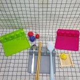 硅膠食具墊 硅膠湯勺瀝水架 創意食具支架