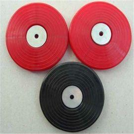 隧道防水板热熔垫片红黑白加丝网带铁片PE塑料垫片