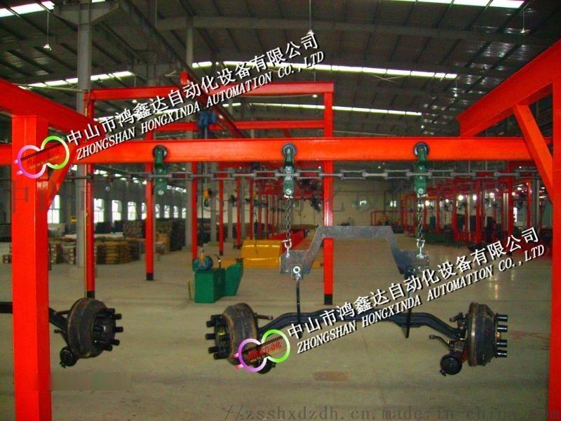 广东汽车车桥生产线,车架装配线,商务车自动流水线