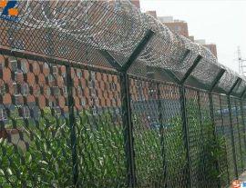 监狱隔离防护网  刀片刺绳护栏网