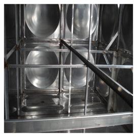 玻璃钢镀锌简易水箱厂家 湘西州循环水箱