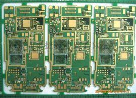 深圳PCB板厂直销沉金双面1盎司电路板定制