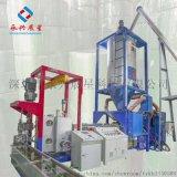 塑鋼帶制造 100%回料 PET一齣二全自動機用塑鋼打包帶擠出生產線