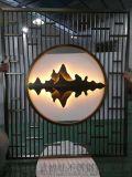 拉絲不鏽鋼屏風|鍍鈦拉絲不鏽鋼屏風隔斷廠家