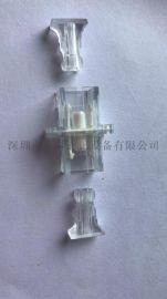 SC全透明翻盖光纤适配器