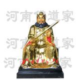 张天师铜神像 道教正一道创始人 张道陵