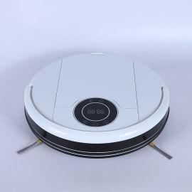 外贸出口智能家用扫地机器人全自动充电吸尘器