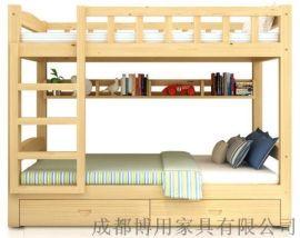 德阳幼儿园上下床定制 绵阳实木儿童双层床厂家直销