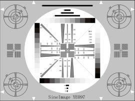 高分辨率测试卡-摄像头测试卡-高精度测试卡