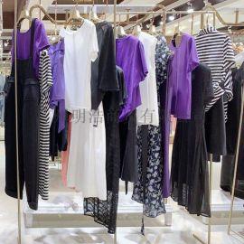 女裝品牌折扣名妹新款  連衣裙夏季快手直播間貨源