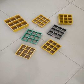 霈凯环保 玻璃钢楼梯踏板格栅 平台格栅