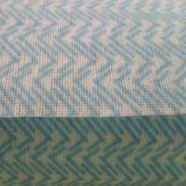 供应多规格艳红条纹水刺无纺布_定制多种擦拭无纺布