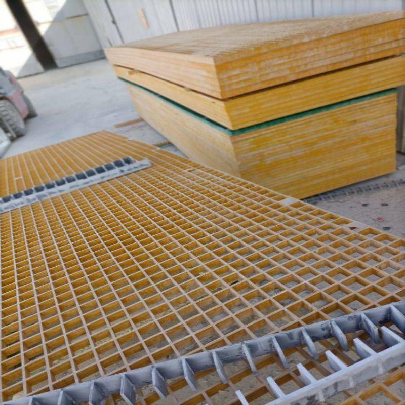 樹篦子防滑格柵蓋板玻璃鋼格柵板