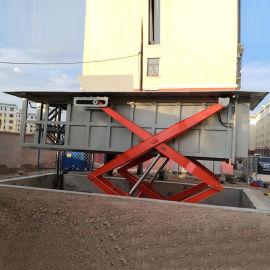垃圾压缩处理设备 水平式垃圾中转站 参数