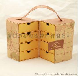 福州中秋月饼包装礼盒定制加工生产厂家