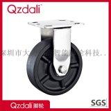 重型不锈钢黑色耐温220度高温轮