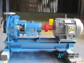 自贡自泵水泵厂耐腐蚀不锈钢机械密封化工流程泵