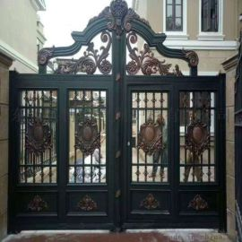 中式别墅大门固原泾源县围墙防护栏生产工艺