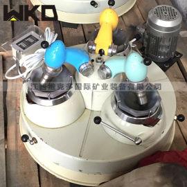 如何使用实验室三头研磨机 小型玛瑙研磨机厂家直销