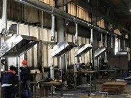 上海打磨焊接车间烟气净化设备工程圆满完工!