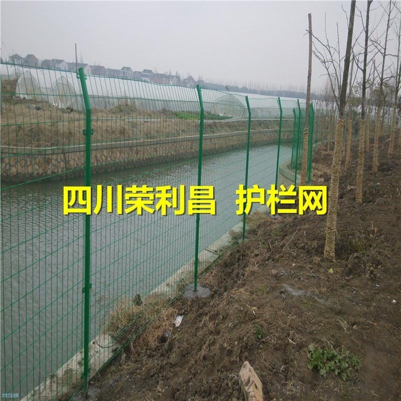 四川榮利昌護欄網 框架護欄網 高速公路護欄網廠家