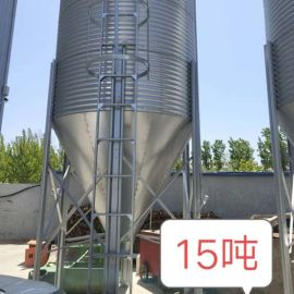 全自动料塔料线镀锌钢板材质使用时间常长耐腐蚀