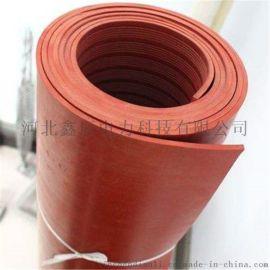 河北鑫辰电力厂家直销红色防滑绝缘橡胶板