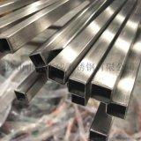 湖南拉絲面201不鏽鋼裝飾方管50*50*1.2廠家