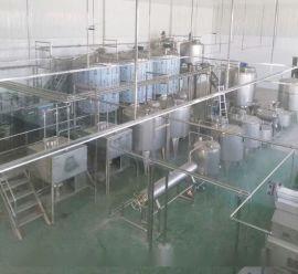 中小型椰汁饮料加工生产线|易拉罐椰汁饮料灌装机|科信交钥匙工程
