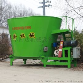 大型电动拌料机,饲草混合搅拌机,草粉精料搅拌机