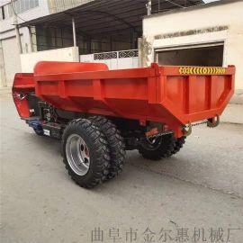 工程用柴油动力三轮车 货运载重农用三轮车