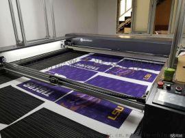 电脑刺绣数码印花切割家纺服装视觉定位激光切割机