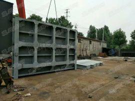 绵阳4米X4米钢制闸门|钢闸板厂家